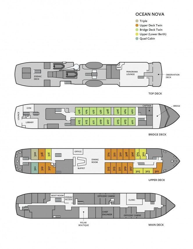 ocean nova deck
