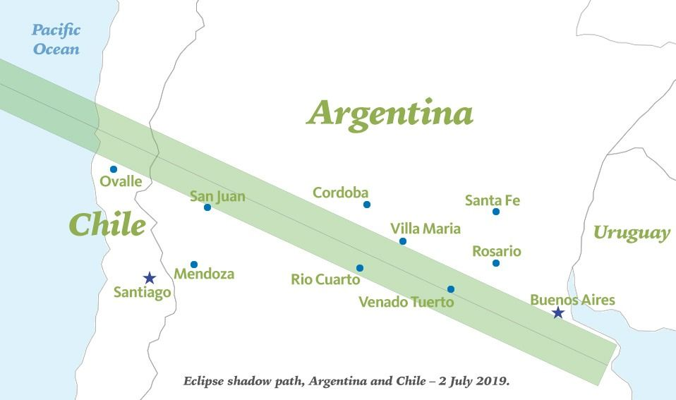 Solar Eclipse Travel Packages South America 2019 2020