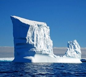 view amazing icebergs