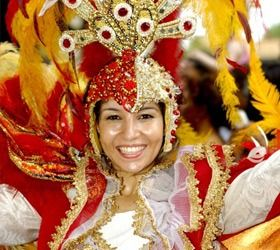 The ultimate party is Carnaval in Rio de Janeiro