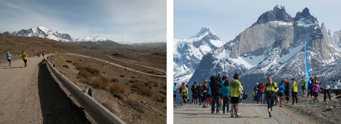 enter the Patagonian Marathon