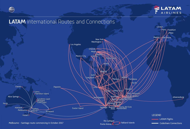 LATAM Routes