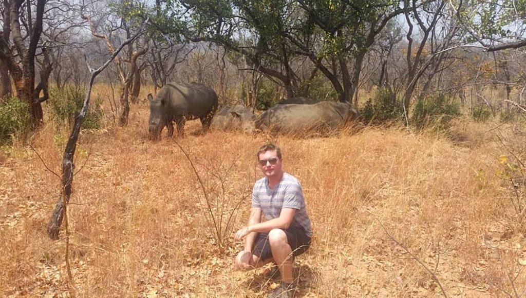 Blake Powell in Zimbabwe