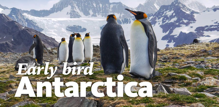 Antarctica Early Bird Deals