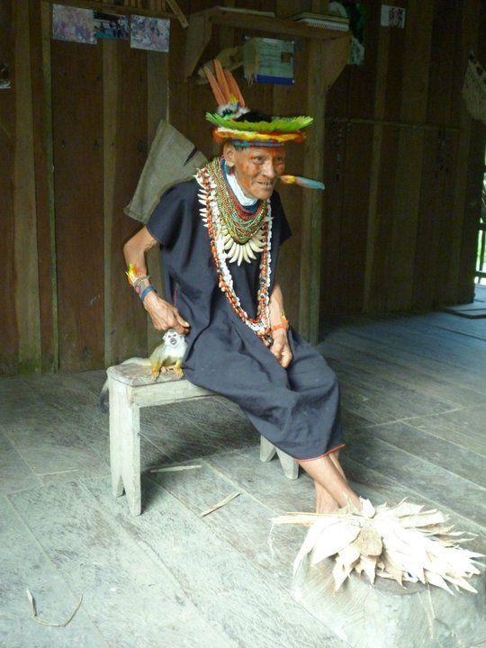 Shaman in Cuyabeno