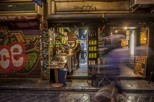 Melbourne laneway bar